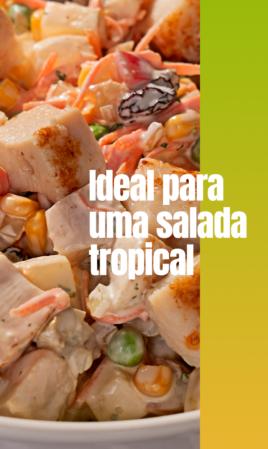 Ideal para uma salada tropical
